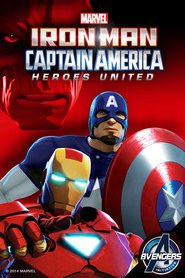 Iron Man and Captain America: Heroes United animation movie cast and synopsis.