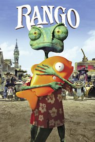 Rango animation movie cast and synopsis.