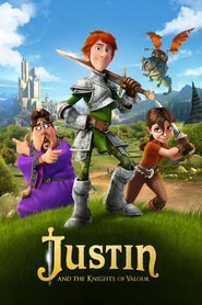 Justin and the Knights of Valour animation movie cast and synopsis.