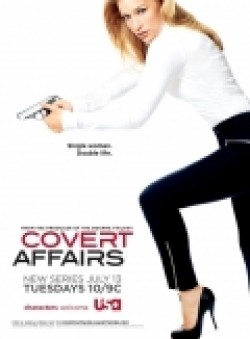 Covert Affairs with Nic Bishop.