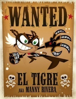 El Tigre: The Adventures of Manny Rivera animation movie cast and synopsis.
