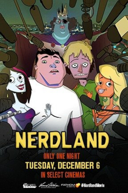 Nerdland animation movie cast and synopsis.
